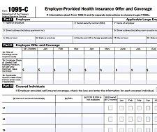 1095-C form IRS