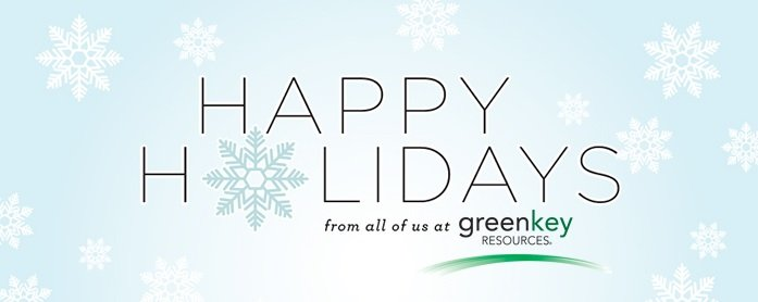 Happy Holidays from Green Key Resources