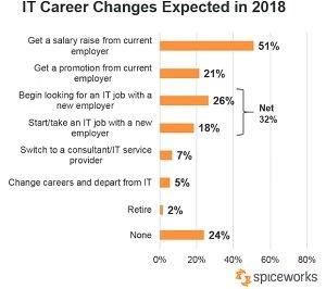 IT pros job plans 2018
