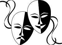 actor theater masks