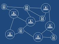 blockchain depiction