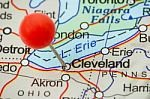 cleveland on map