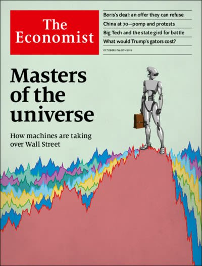 economist cover on ai trading