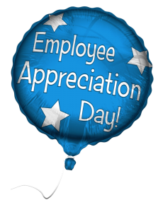 employee appreciation day balloon