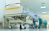 hospital gurney