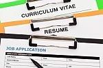 cover letter, resume