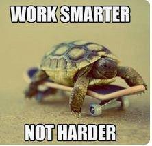 work smarter slogan